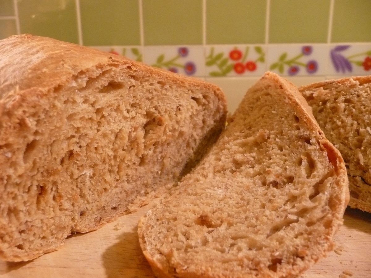 Homemade bread tastes heavenly and is easy to make.