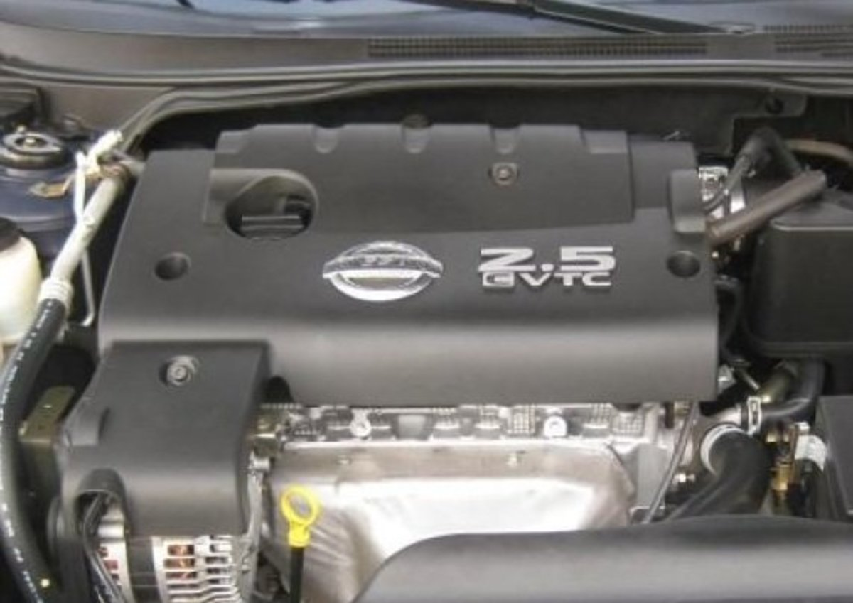 How to replace the spark plugs in a 2006 Nissan Altima 2.5 liter. Step by step with pictures