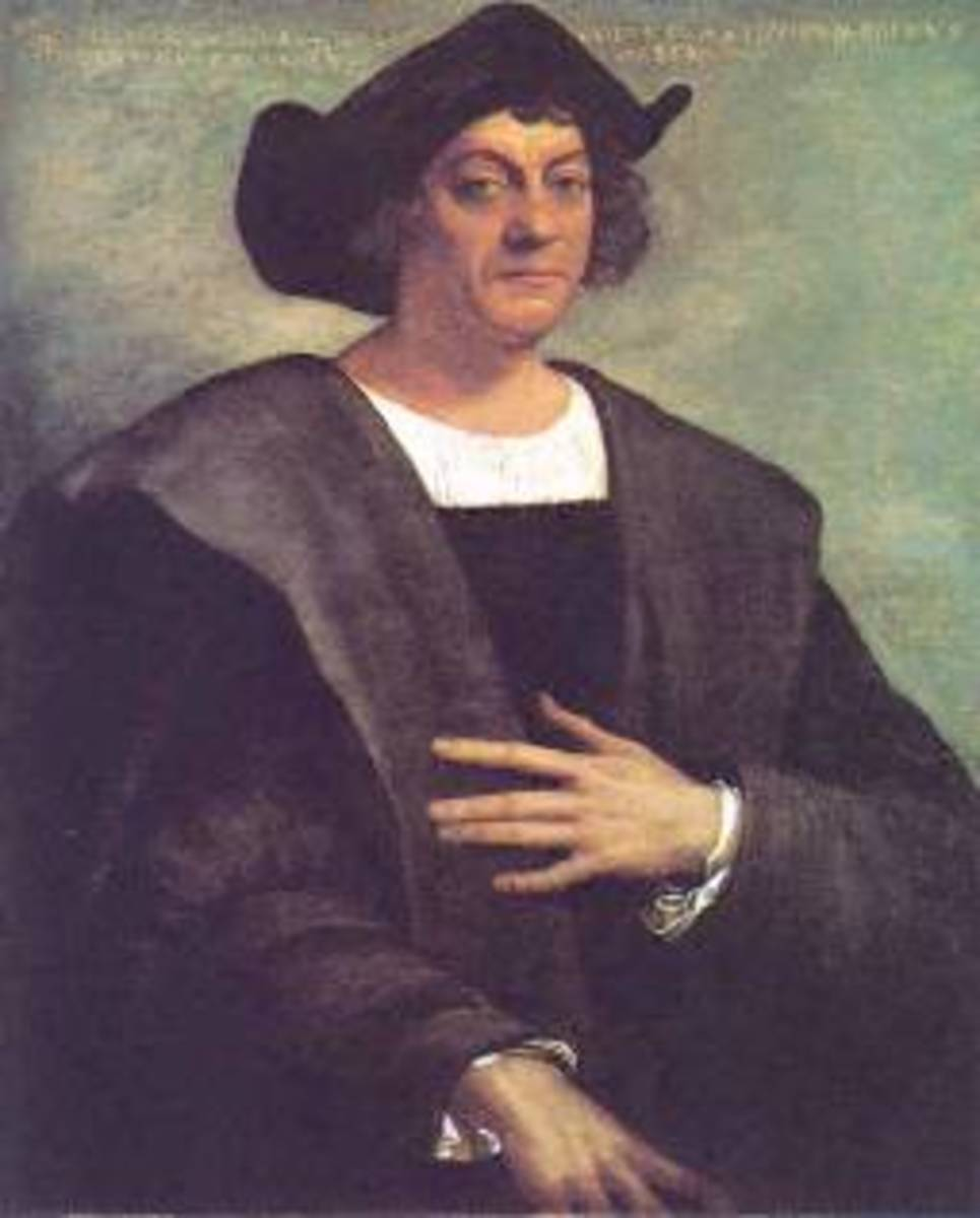 Christopher Columbus...or someone else?