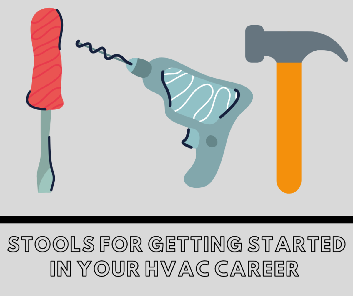 Tools for Getting Started in Your HVAC Career (With Pictures)