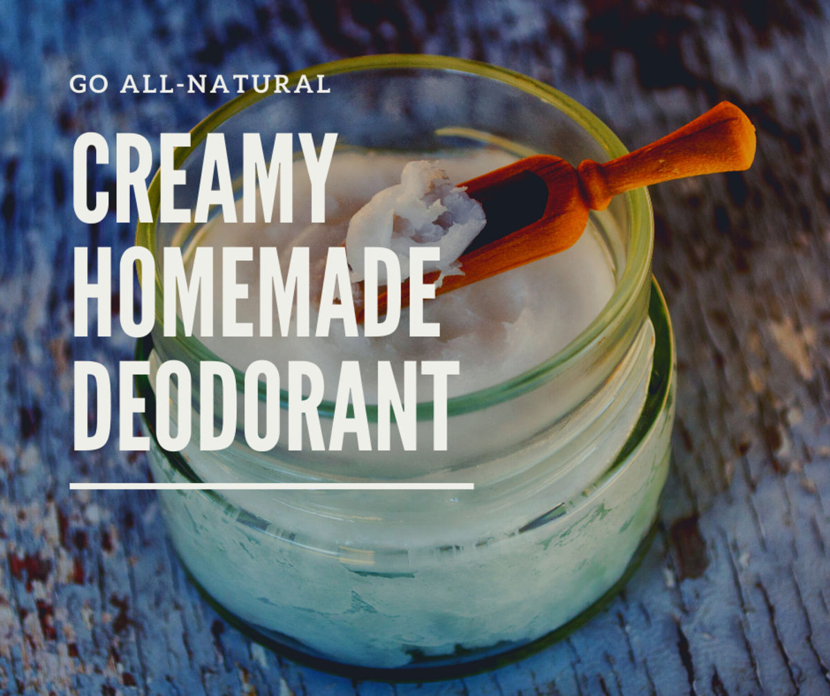 This deodorant is creamy, easy to apply, and good for you!