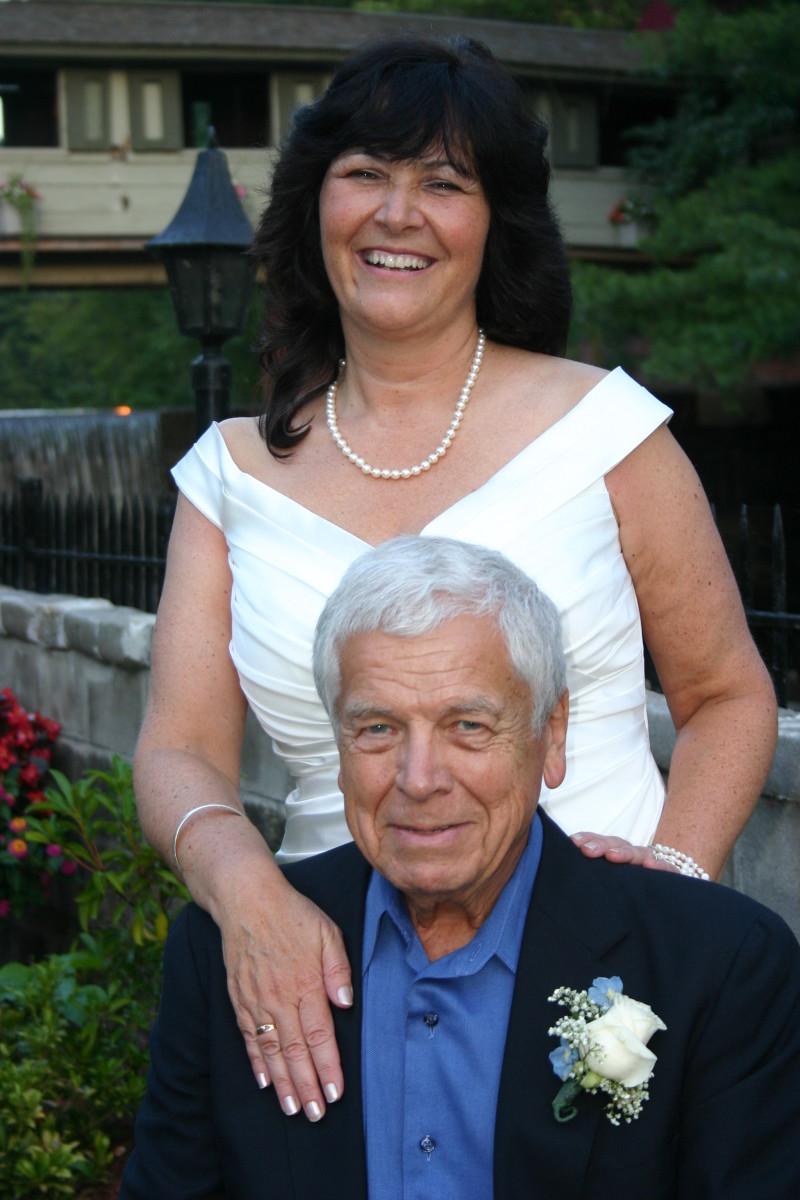 Karen and Chuck Hellier ( my husband)