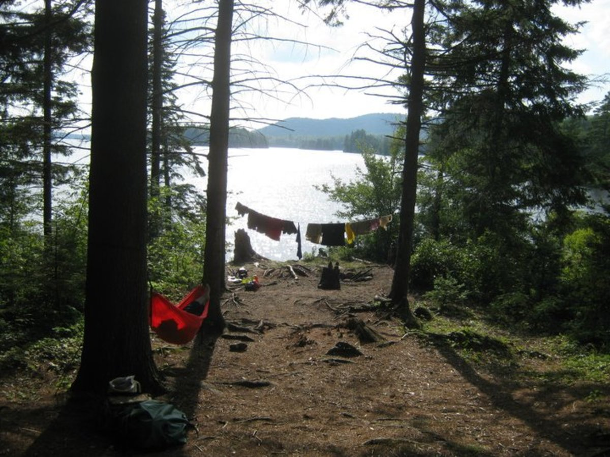 Great backcountry campsites are beautiful and usually free.