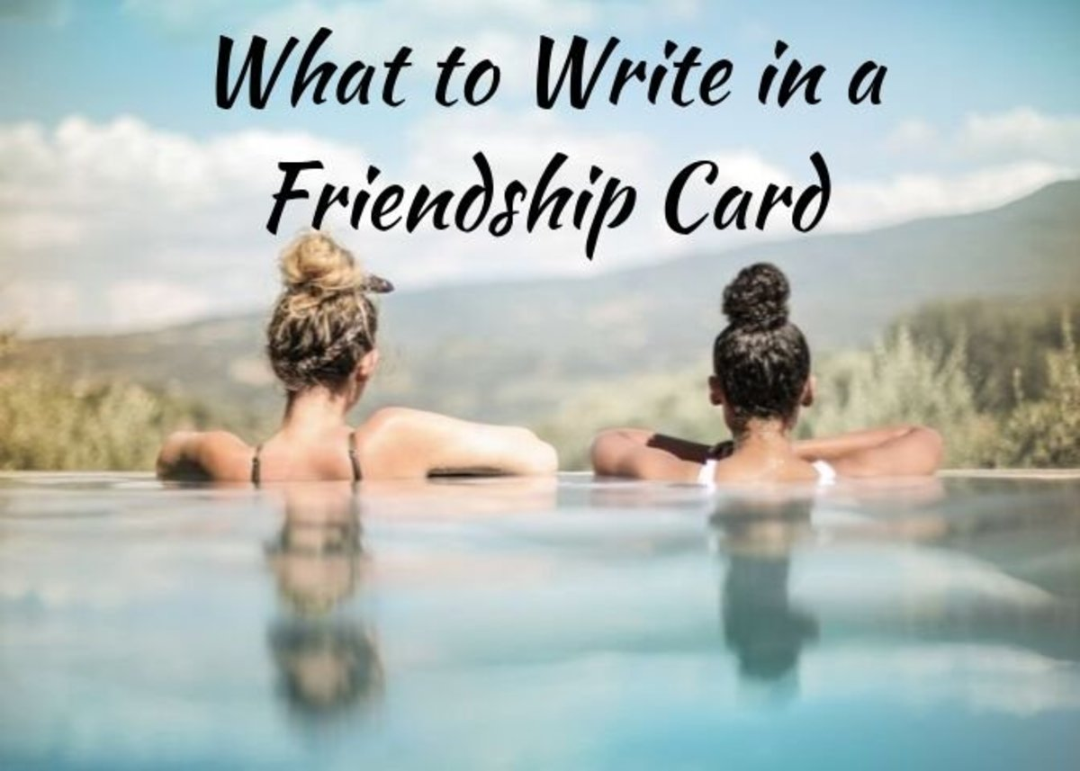 24 Messages to Write in a Friendship Card or Note