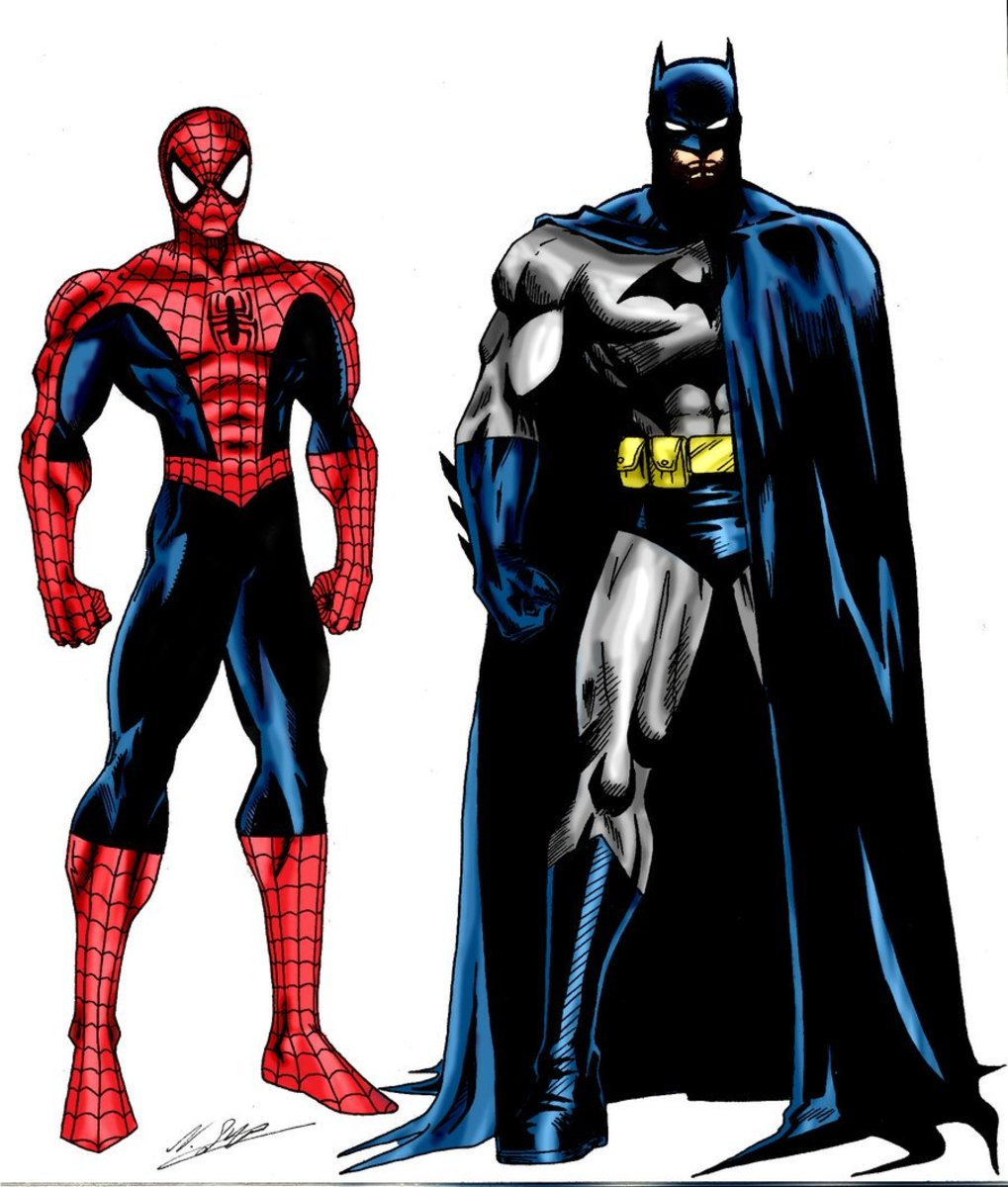 10 Reasons Why Spiderman Is Better Than Batman | HobbyLark