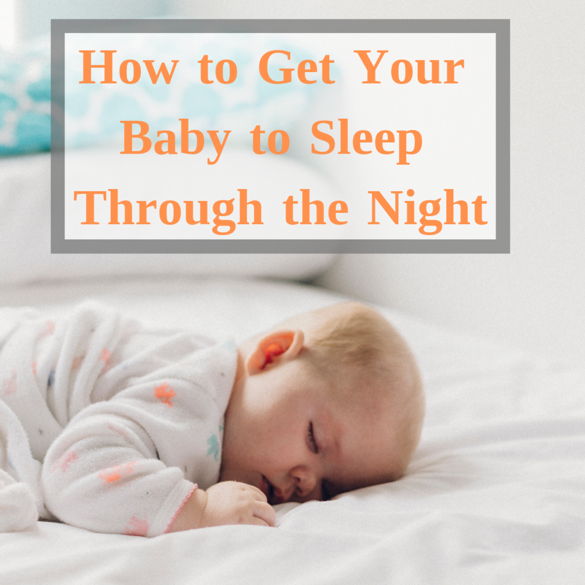 When do babies typically start sleeping through the night