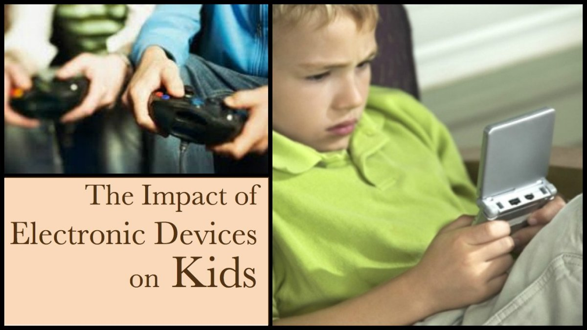 electronic gadget effects on children