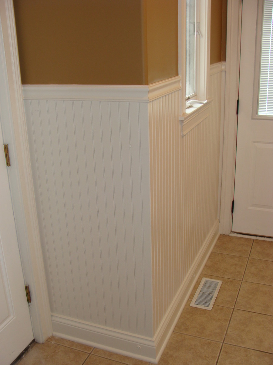 Painting paneling doesn't have to be a pain!