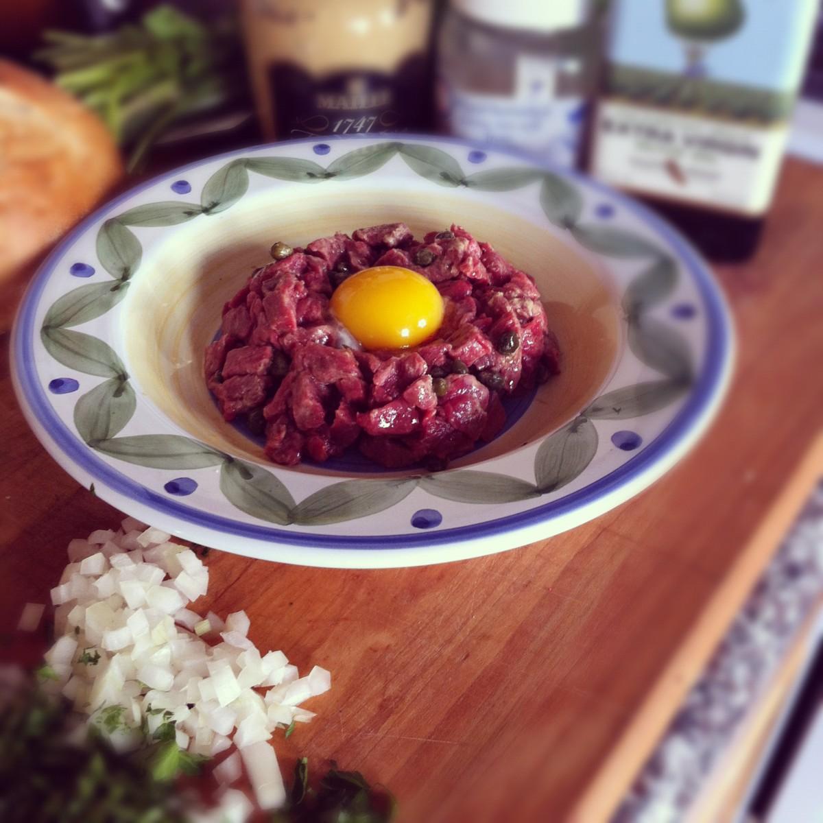 French Steak Tartare Recipe – Alex |Steak Tartare Recipe