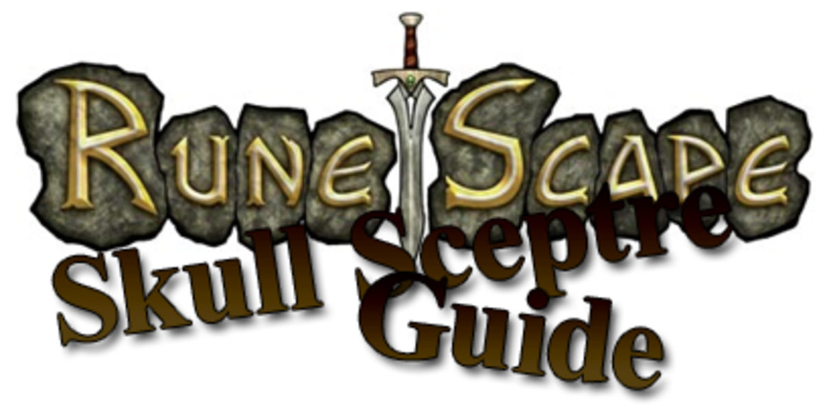 "Learn how to make a Skull Sceptre in ""RuneScape"" the easy way."