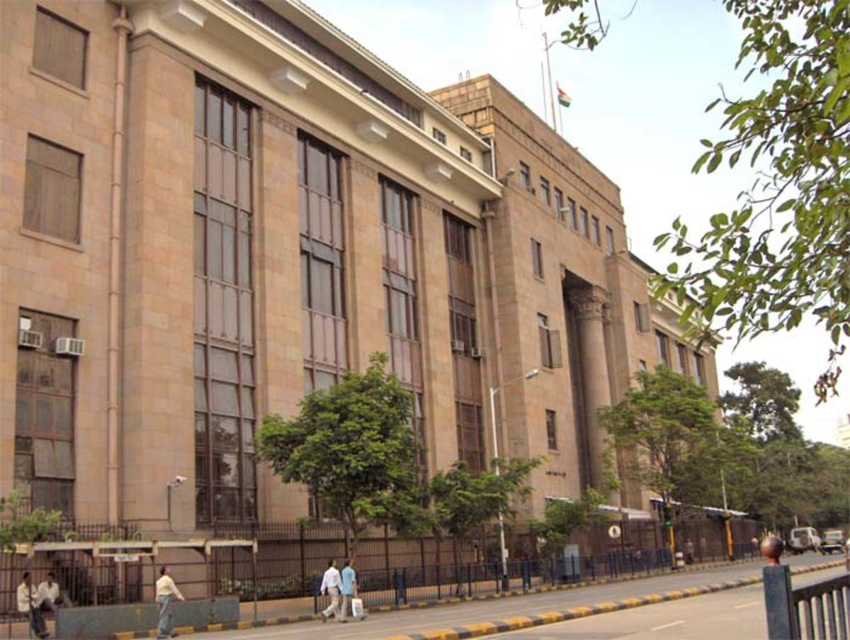 The old Reserve Bank of India building in Mumbai.