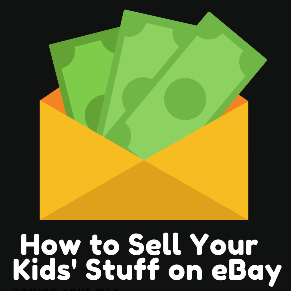Selling your kids' old stuff on eBay can help you earn some much needed extra cash.