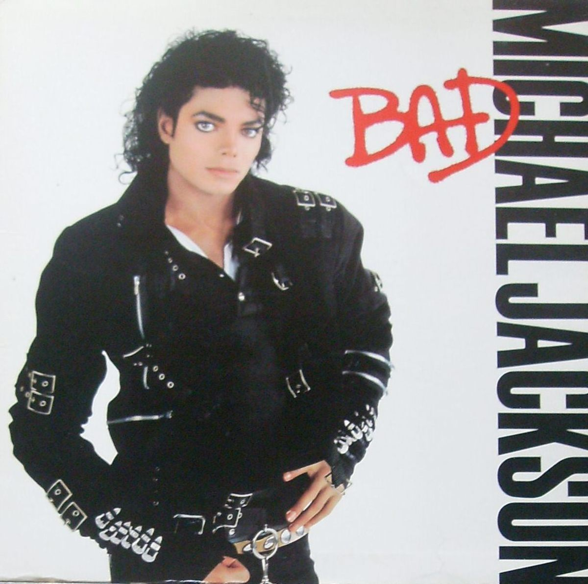 One of my Michael Jackson LPs
