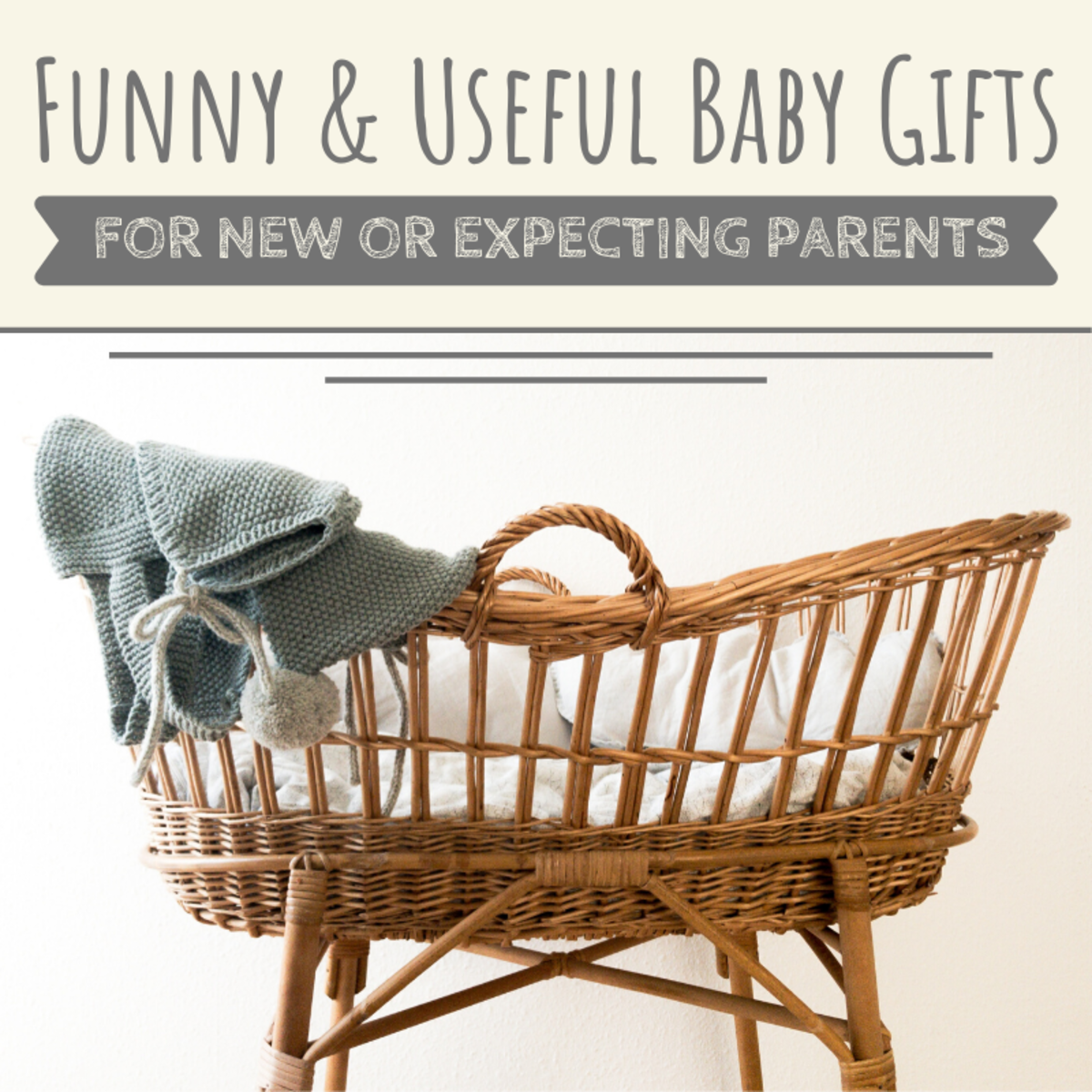 Liven up the baby shower or Christmas celebration by surprising the parents-to-be with one of these funny, original, and practical baby gifts.