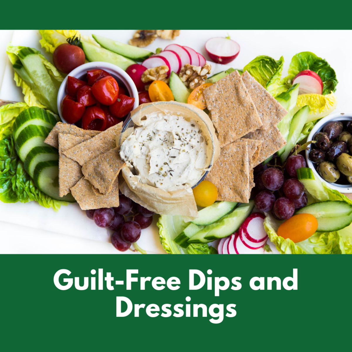 A yogurt dip is a great substitute for cheesy dips.