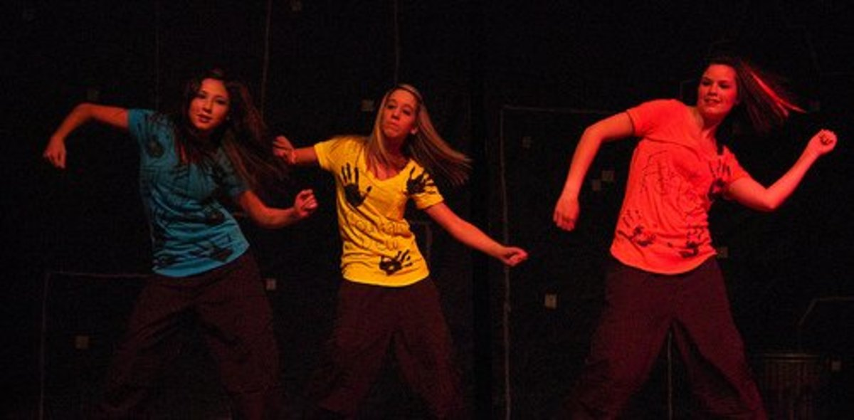 Hip-hop and jazz dances are fun for the dancers and the audience.