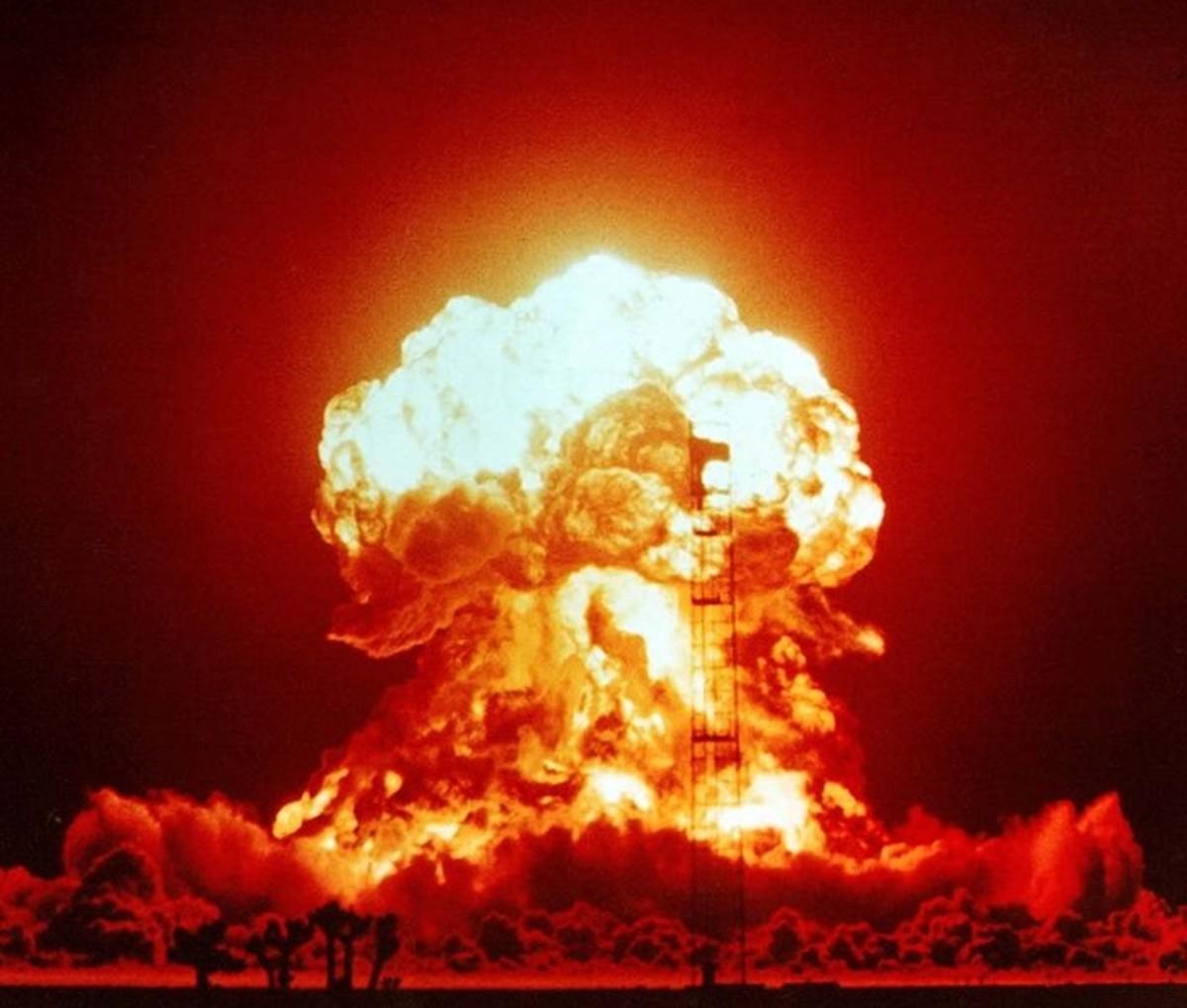 "A ""small"" 23 kiloton nuclear explosion"