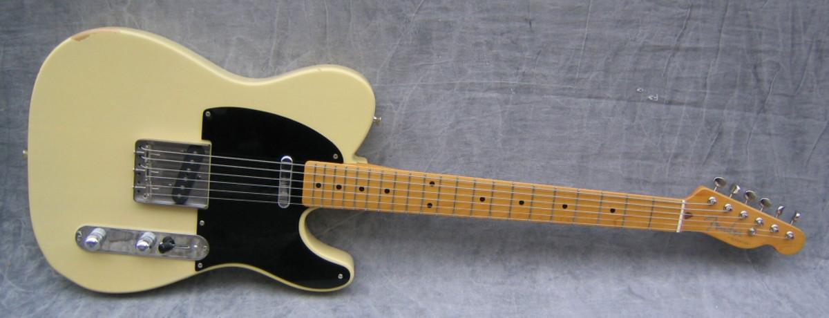Top Five Guitarist To Play The Fender Telecaster Electric Guitar