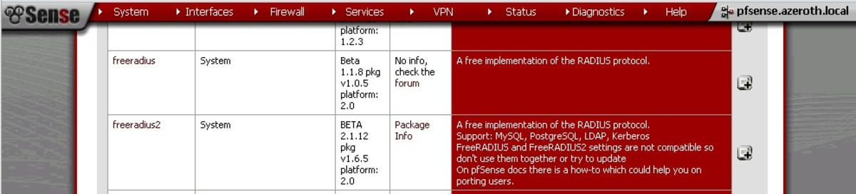 How to Set Up a Radius Server on pfSense Using the FreeRadius2 Package