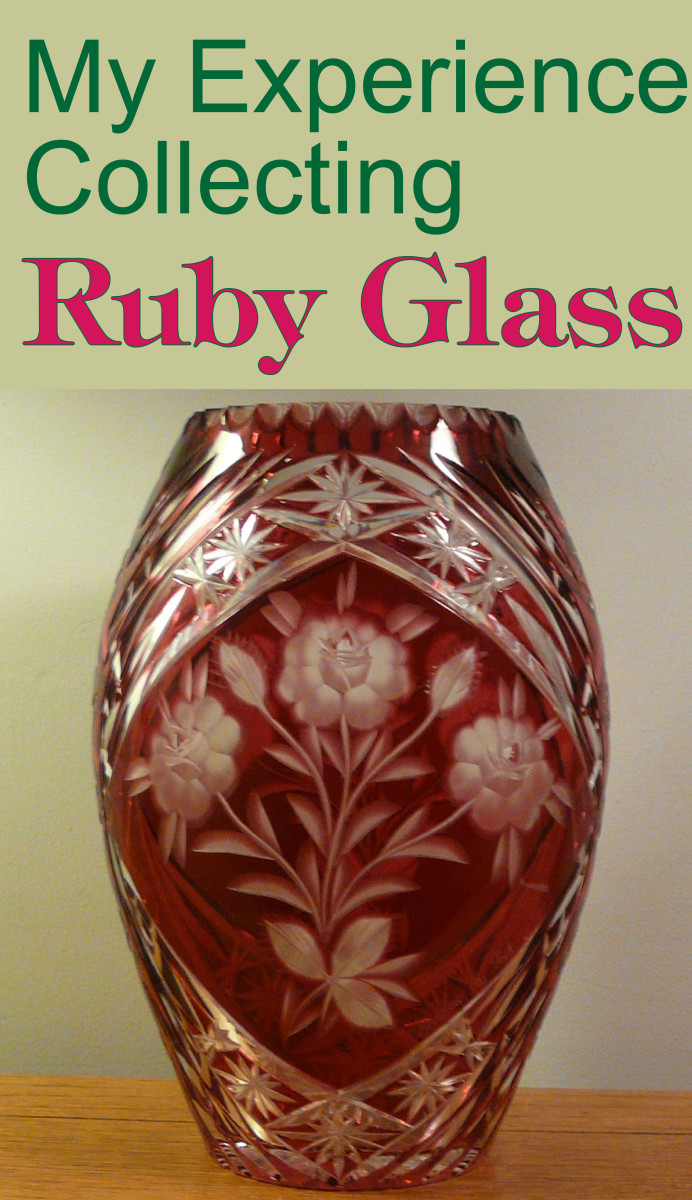 My Experience Collecting Ruby Glass