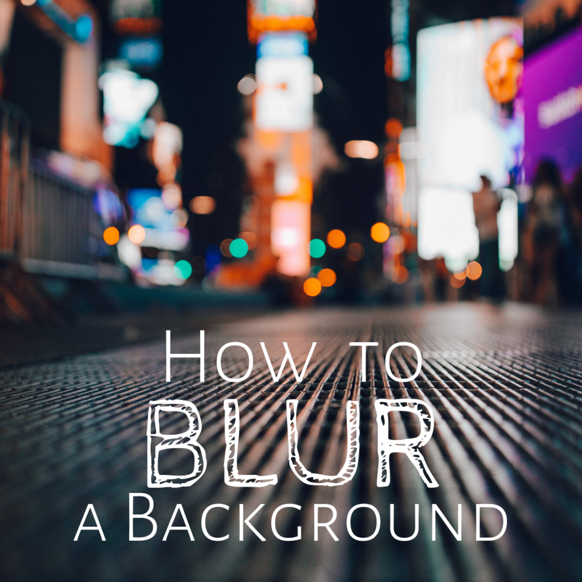 How To Take A Photo With A Blurred Background Feltmagnet