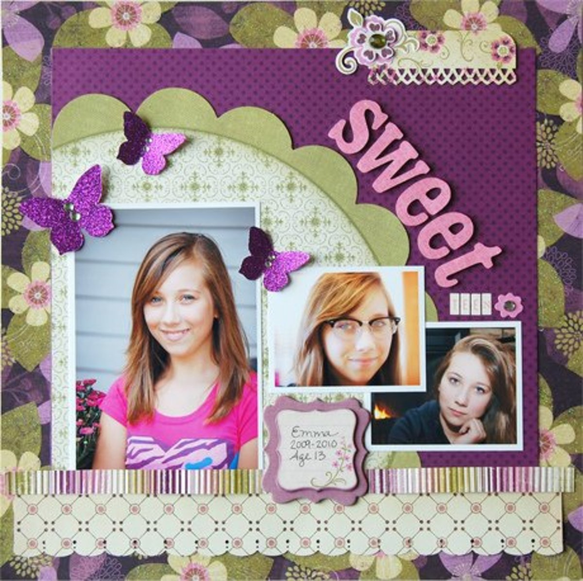 Scrapbook Page Layout Ideas
