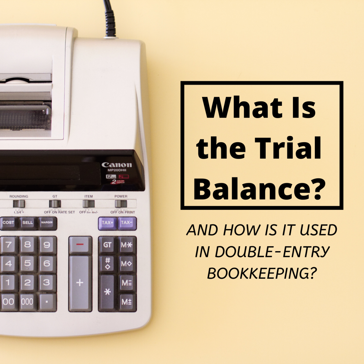 The trial balance is a useful self-check tool for bookkeepers, but in order to use it correctly, it's important to know which accounts are in the debit column and which are in the credit column.