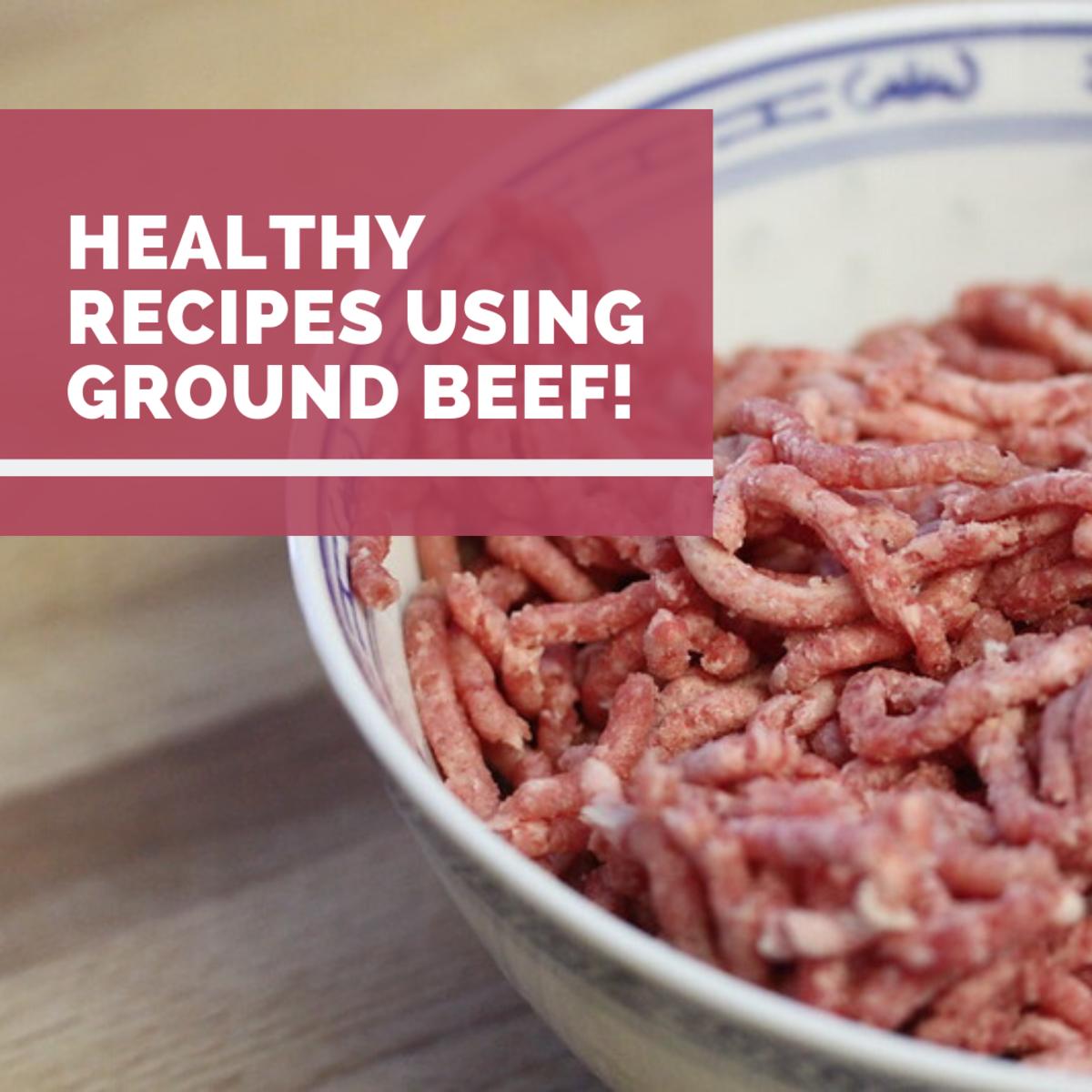 Raw ground beef