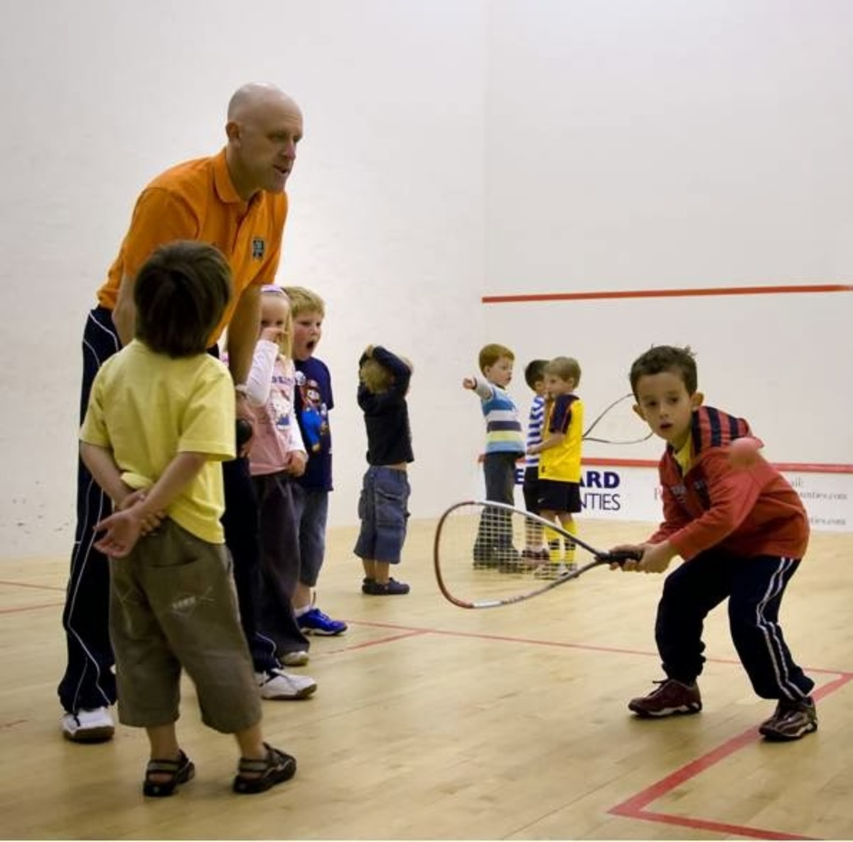 Racquetball for Kids