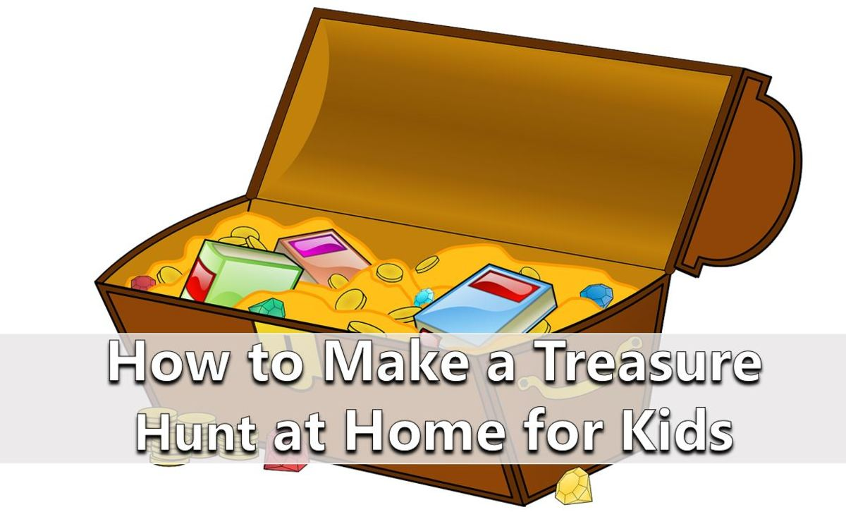 How to Make a Treasure Hunt at Home for Kids