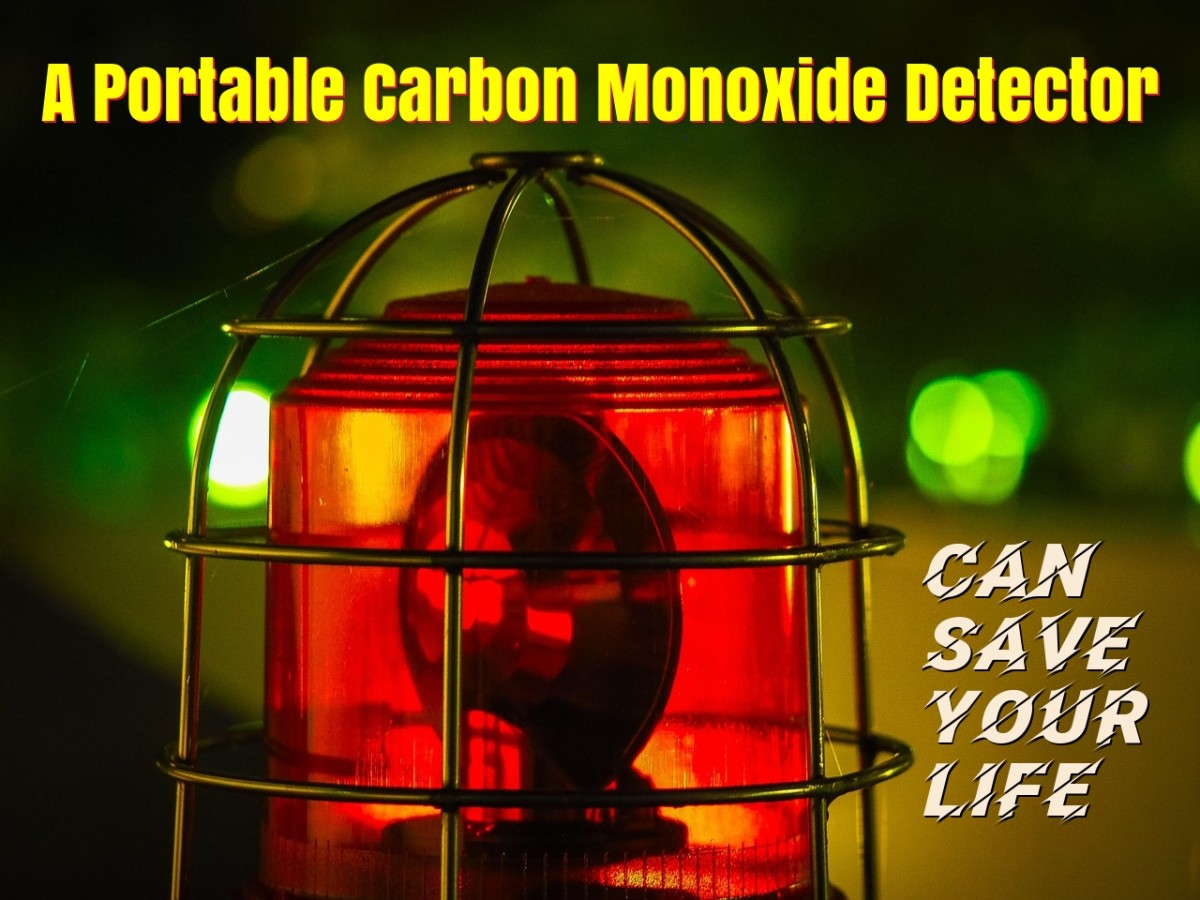 Portable Carbon Monoxide Detectors Save Lives