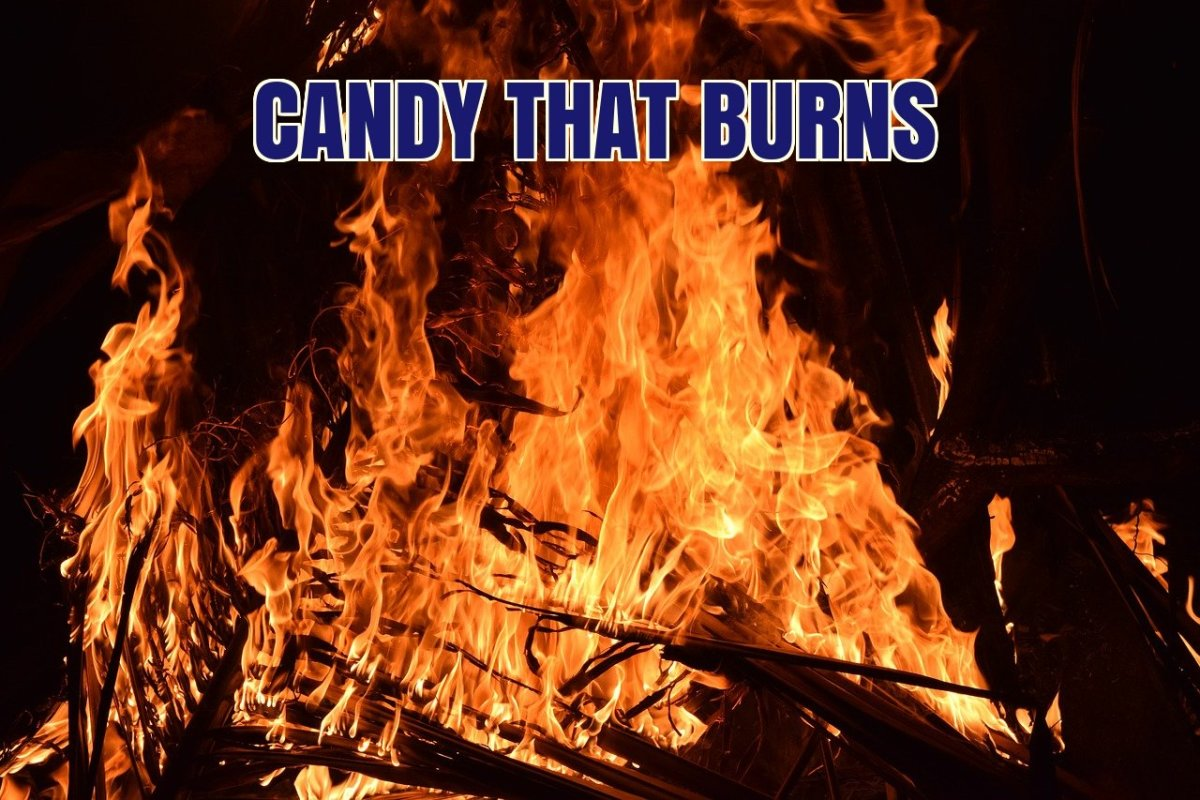 What is the world's hottest candy?