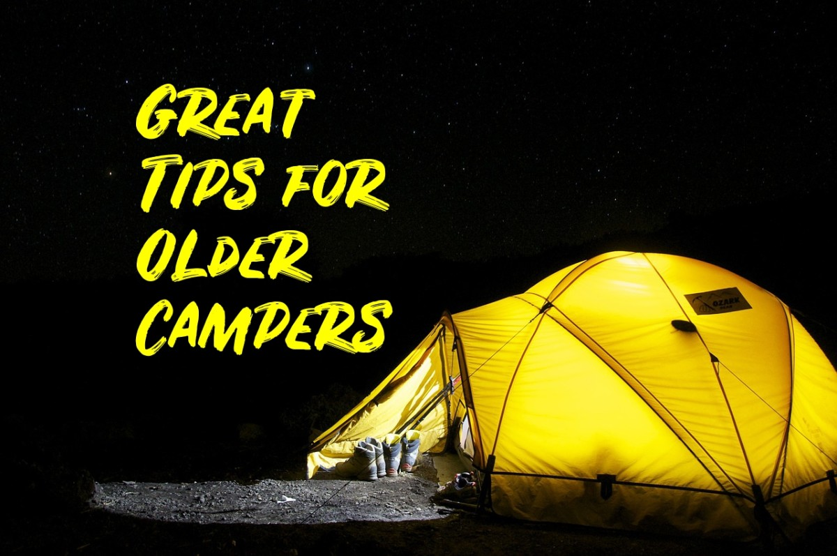 Camping Tips for Older Men and Women