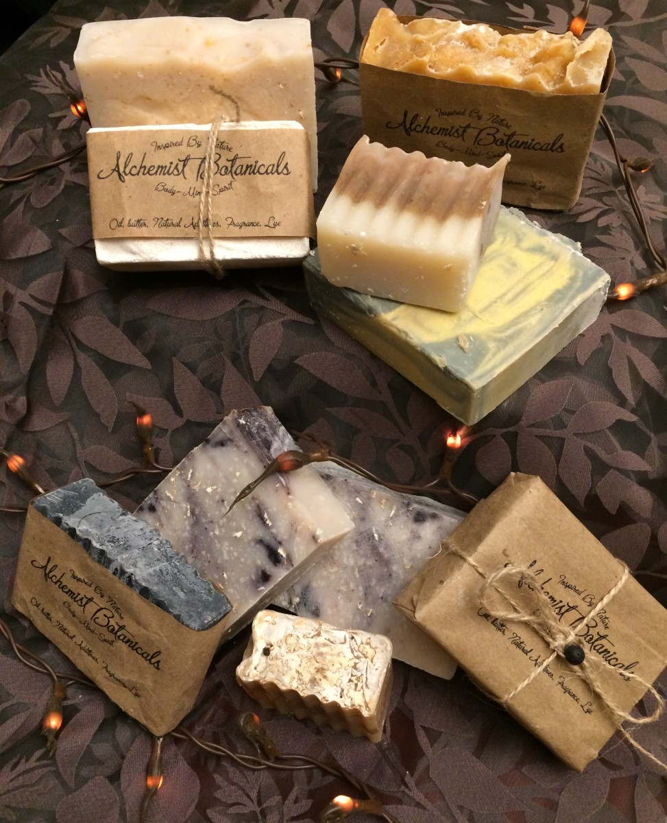 Homemade and Handmade Natural Soap