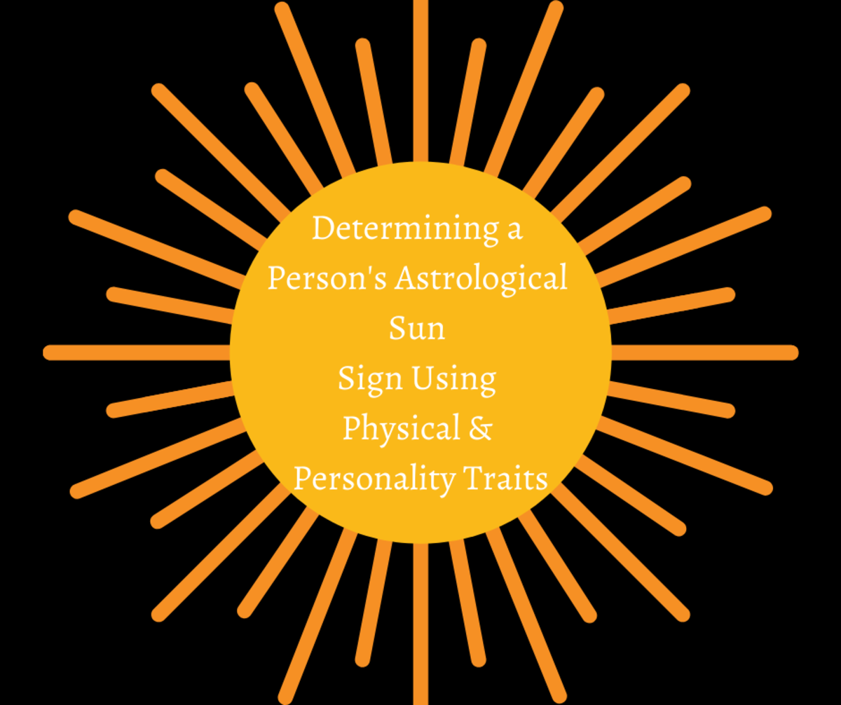 Read on to learn how to determine a person's astrological sun sign using physical and personality traits.