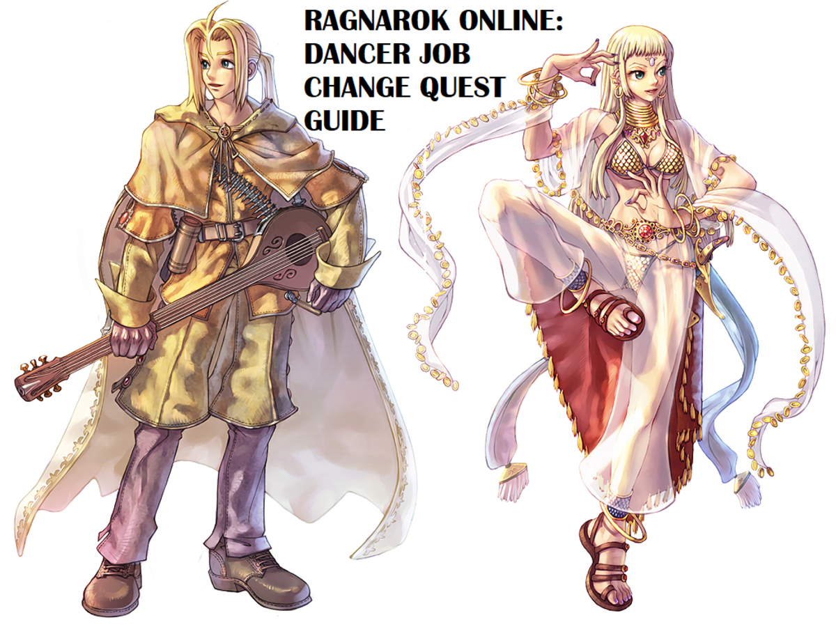 Ragnarok Online Dancer Job Change Quest Guide