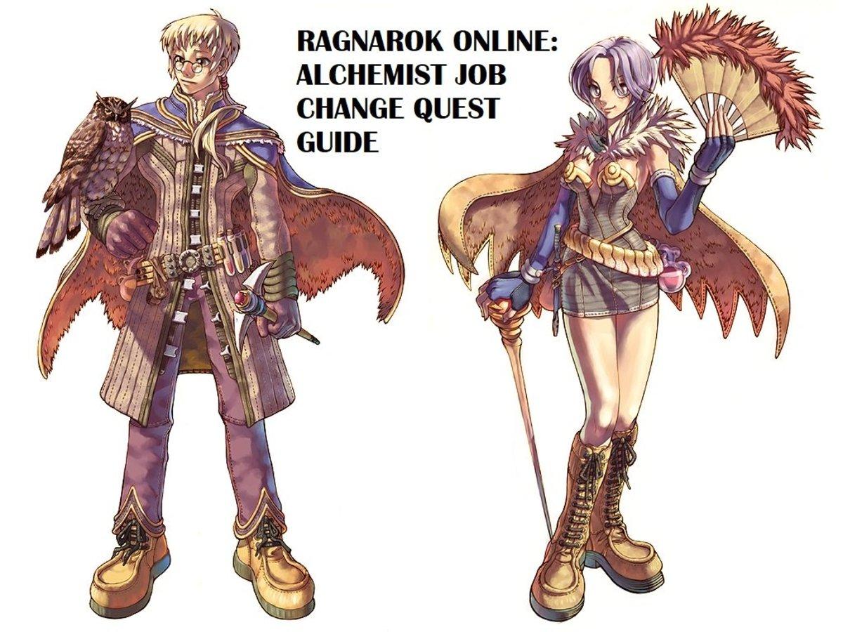 Ragnarok Online: Alchemist Job Change Quest Guide