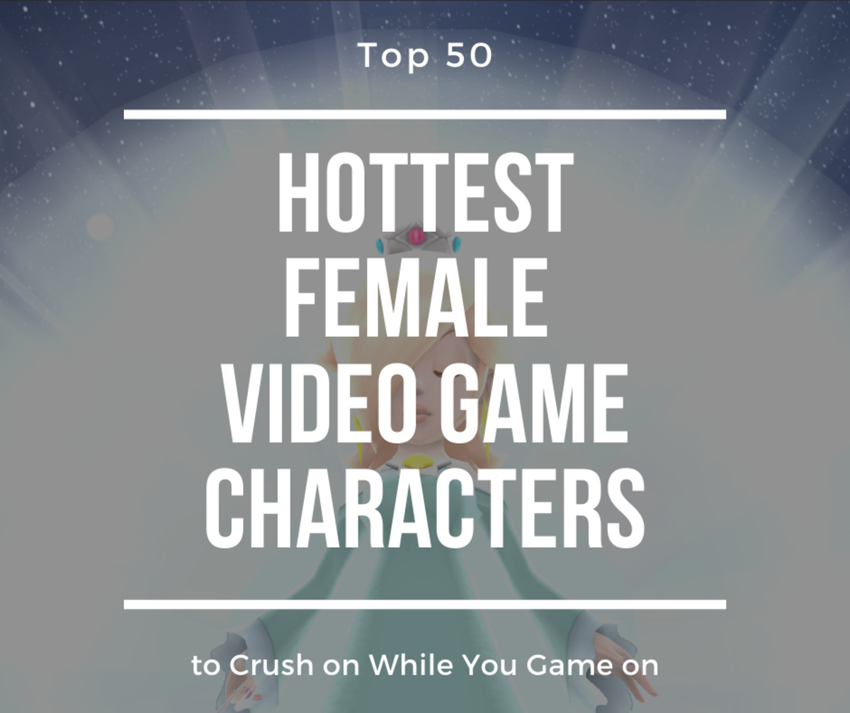 Top 50 Hottest Female Video Game Characters