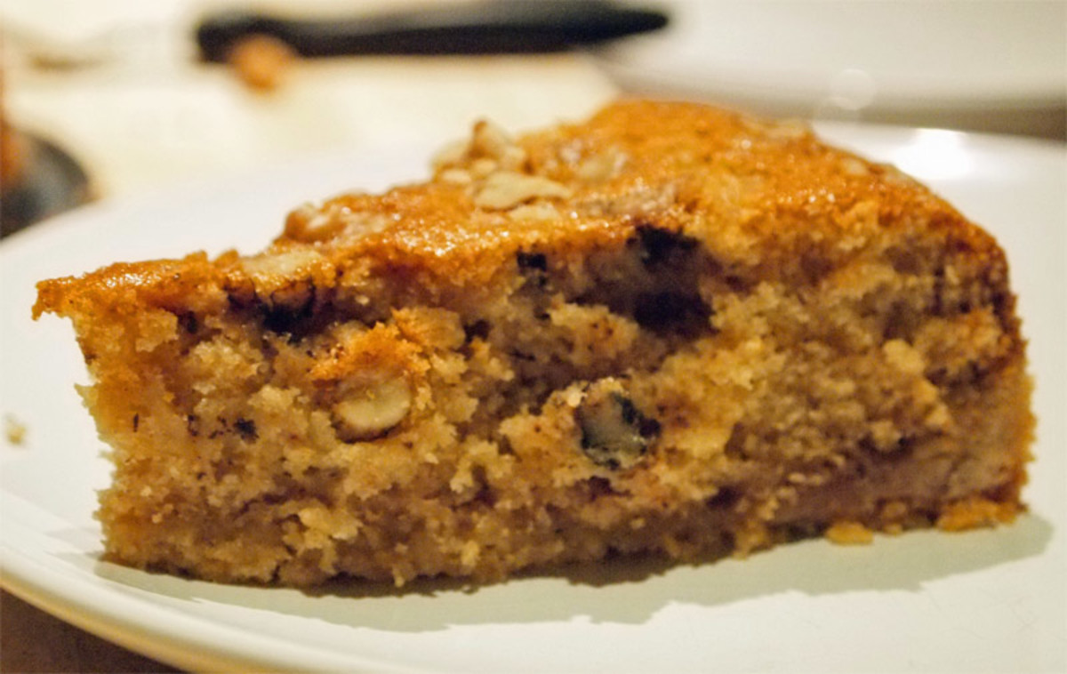 Easy Coffee Cake Recipe: Armenian Nutmeg Cake