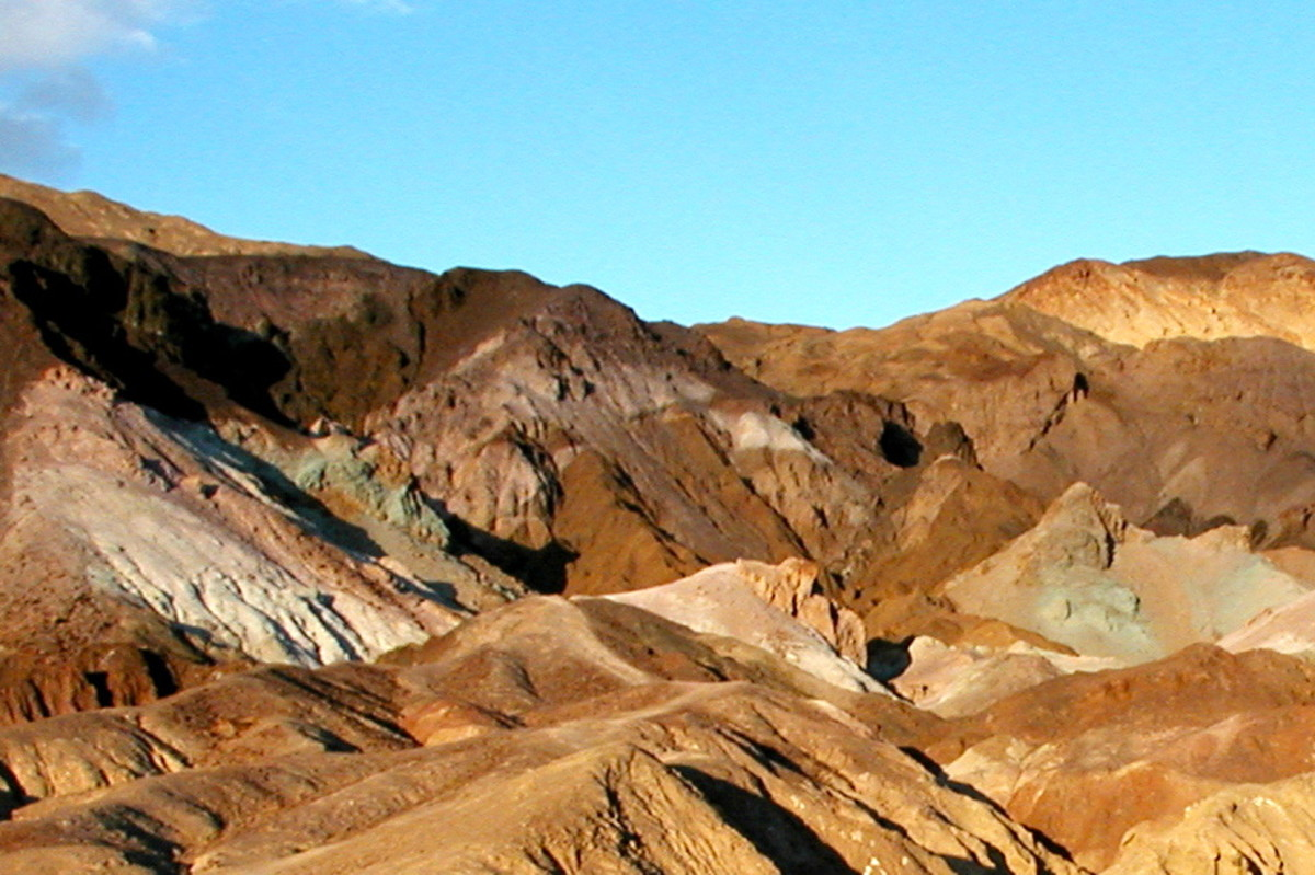 Artist's Palette Drive at Death Valley National Park