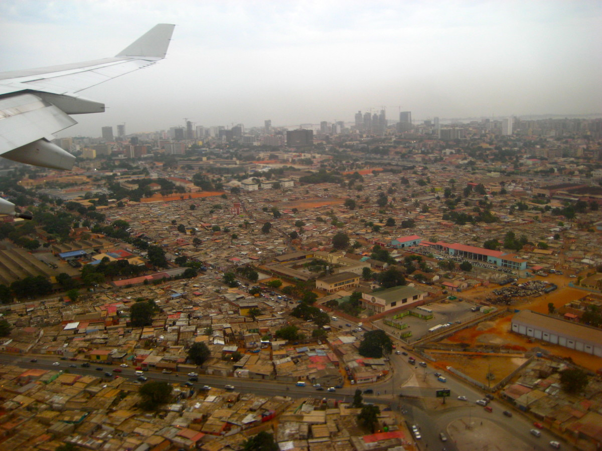 Luanda from above