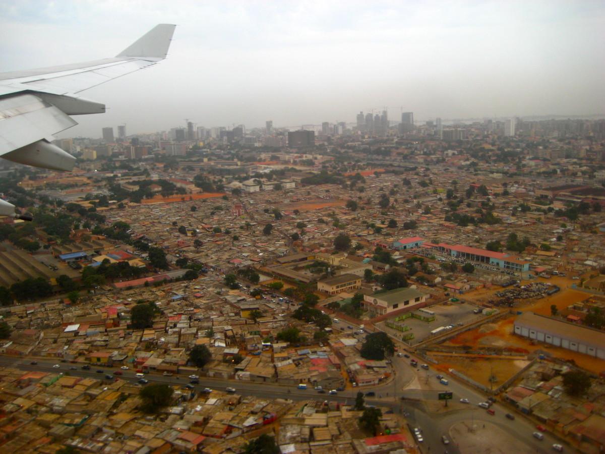 Luanda from above