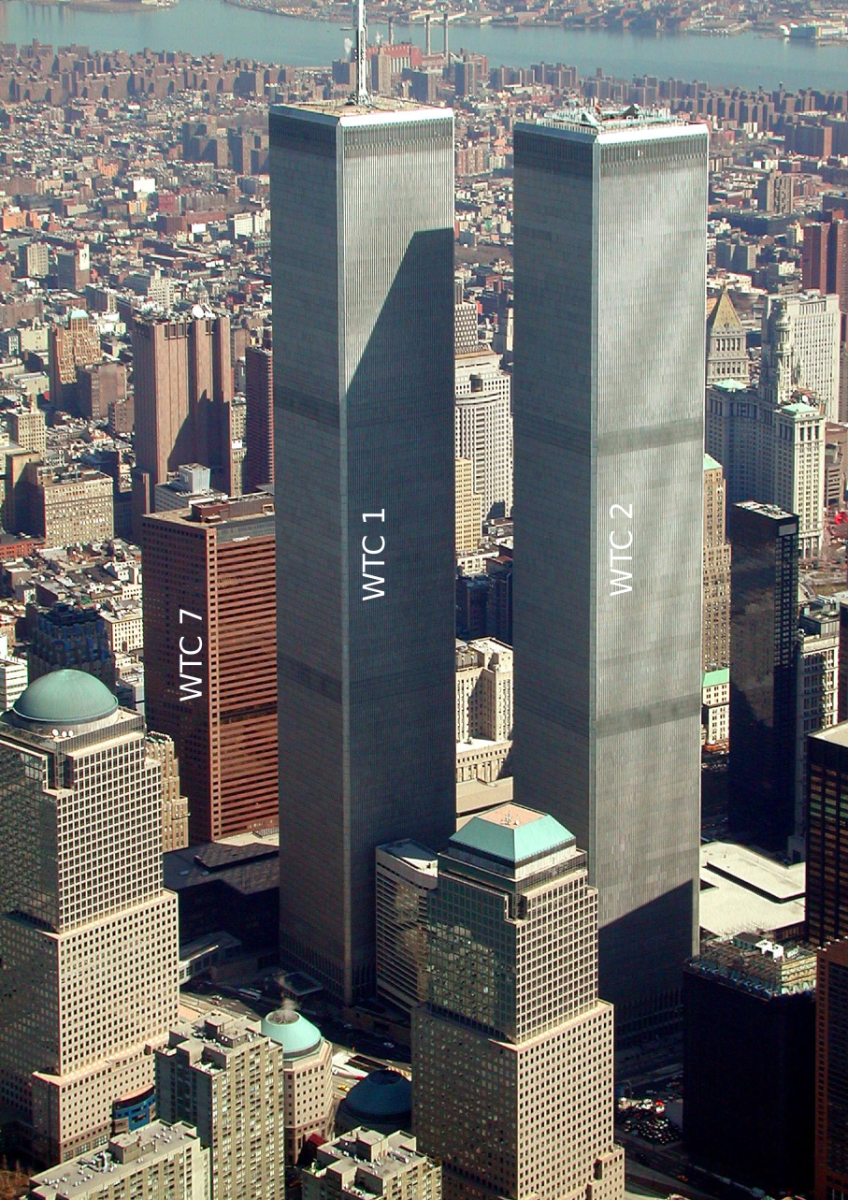The Twins before the attack on September 11, 2001.