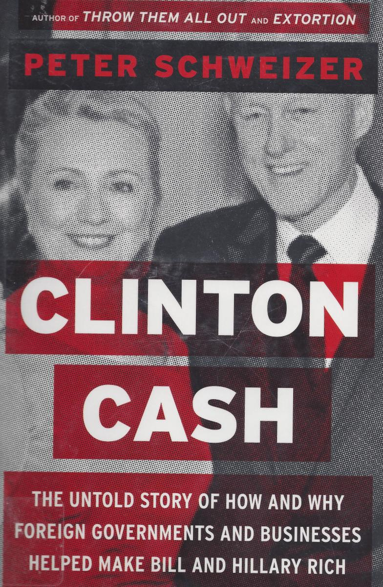 "Cover of the Original Book Version of ""Clinton Cash"""