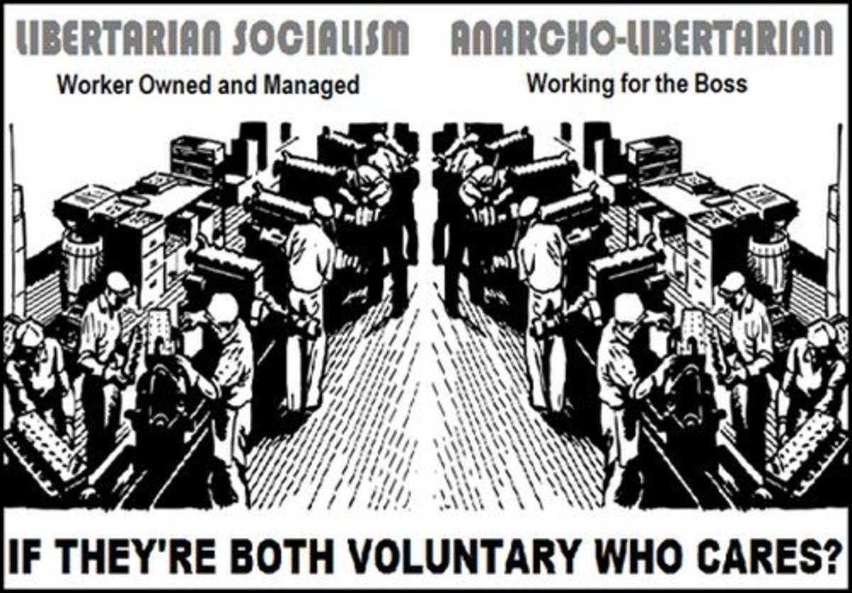 Why can't all anti-coercion/anti-statists agree that the only thing that really matters is Voluntaryism over Authoritarianism?