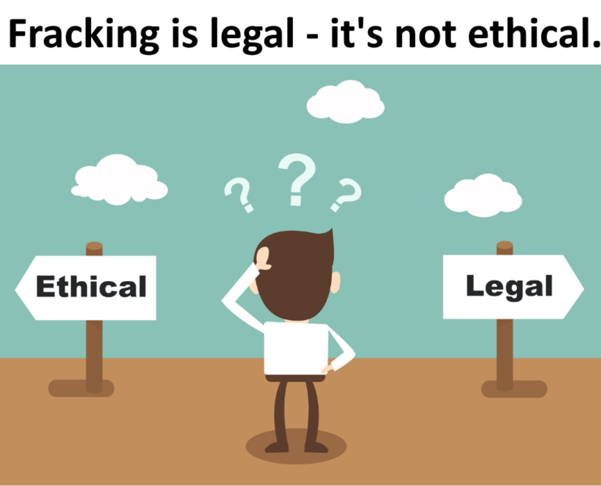 Many things are legal but not ethical