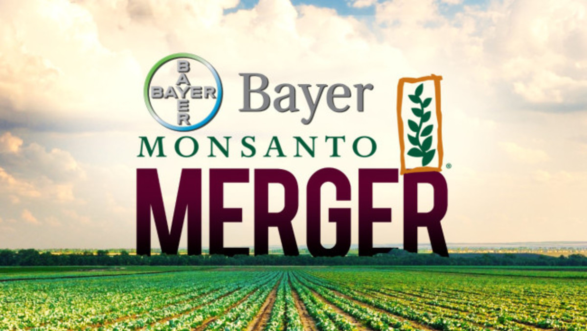 Bayer's $66 billion deal for Monsanto is biggest takeover of 2016.