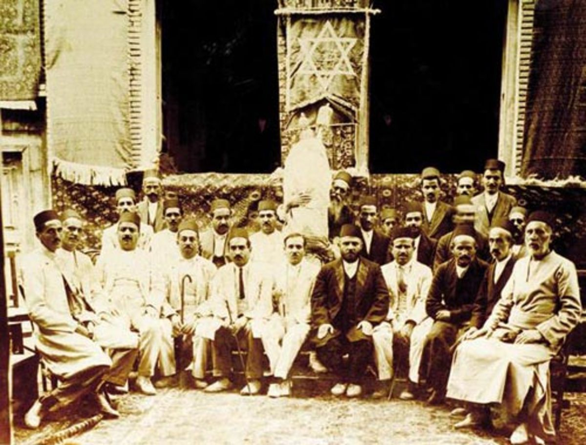 Jews of Persia back in the day.