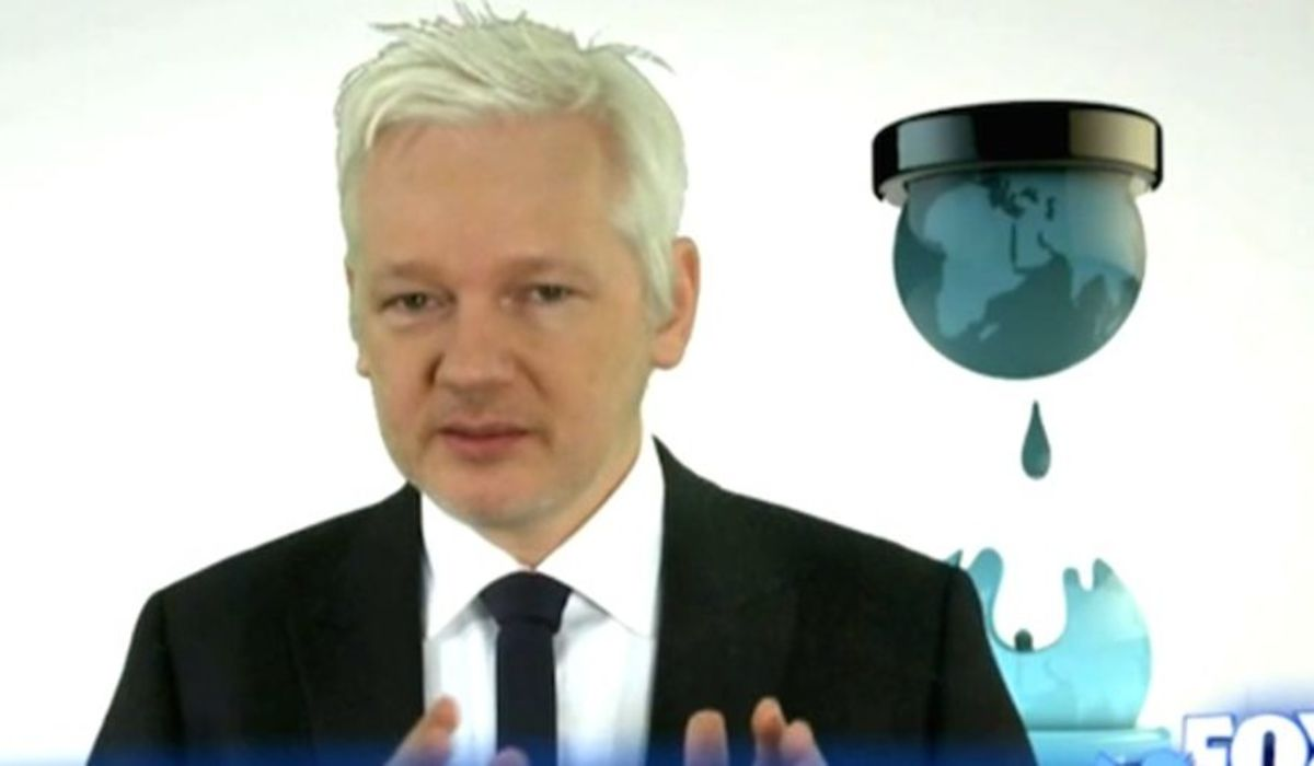 Founder of Wikileaks Julian Assange