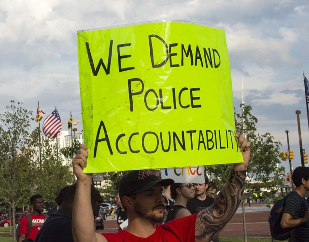 The protests about police brutality and shootings are growing larger